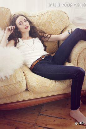 Elizabeth Jagger, égérie du jeans anti-cellulite de Wrangler