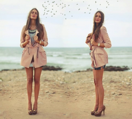 09092013 – Pink Udobuy trench coat