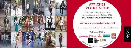 Je suis la mode 2012 – plus que 2 semaines pour participer