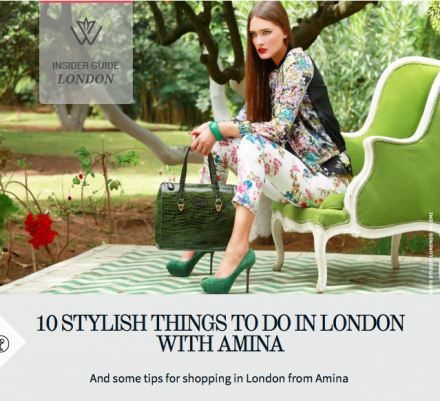 Wearona: 10 Stylish Things To Do In London With Amina