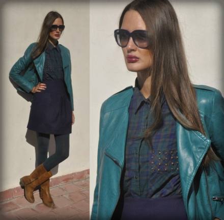 12112013 – Green, navy & camel