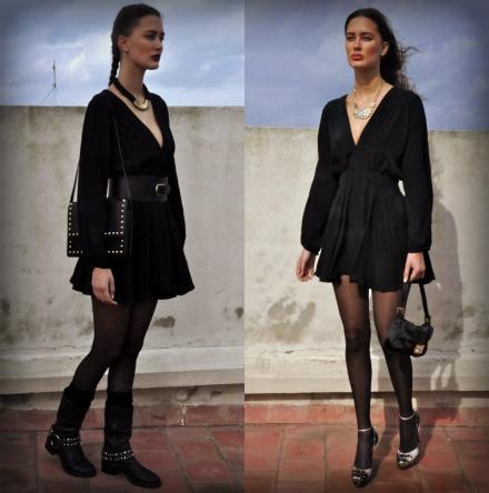 17012014 – Deux façons de porter la petite robe noire