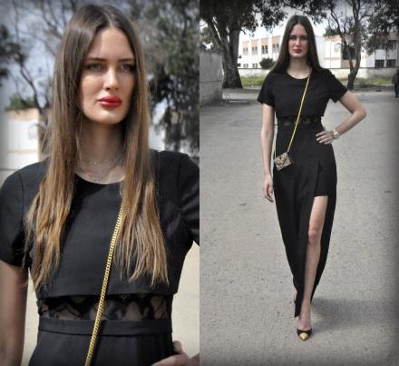 23042015 – Long black dress