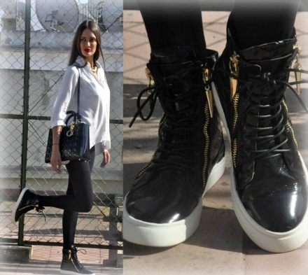 24092013 – black & white sneakers