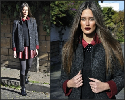 27022014 – Thursday in black, grey & burgundy