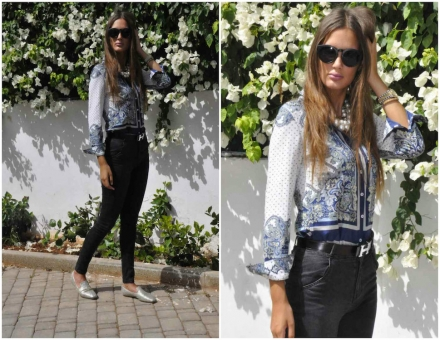 29082014 – Choies vintage blouse