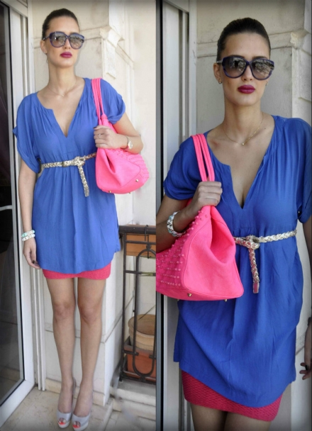 25052013 – pink and blue colorblock