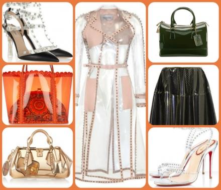 La mode en PVC