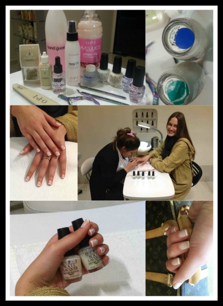 French manucure chez Posh Nails