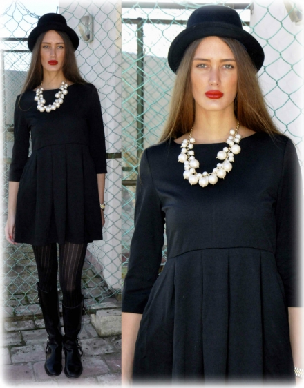 03122013 – All black with pearls