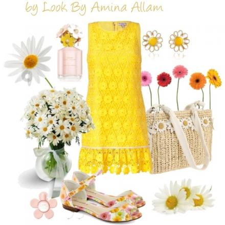 Le jaune des marguerites