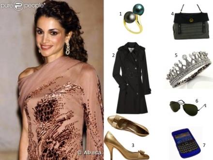 La belle Rania de Jordanie