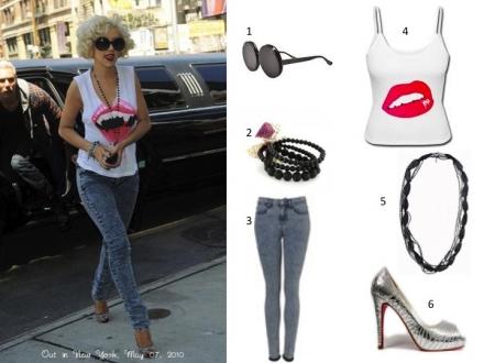 Le style rock de Christina Aguilera