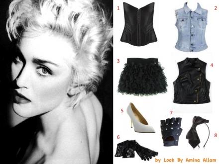 Madonna et les années 80