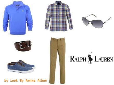 L'homme de Ralph Lauren