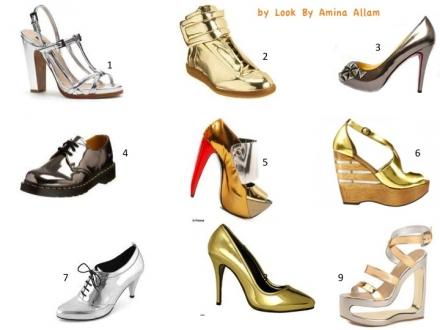Des chaussures comme des miroirs
