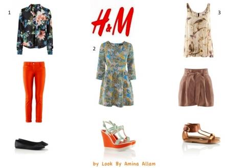 3 tenues façon H&M