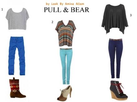 Pull&Bear en 3 versions