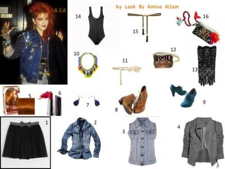 Le style déjanté de Cindy Lauper