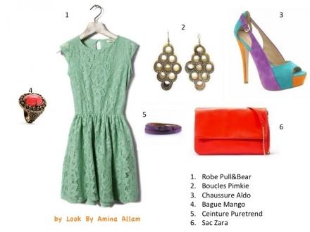 La petite robe de Pull&Bear