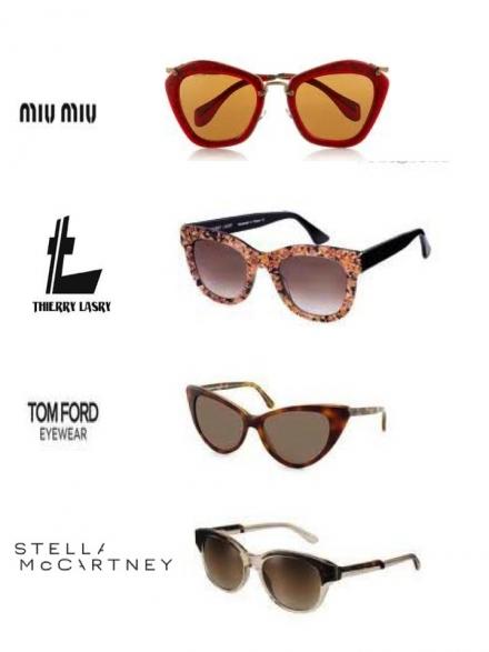Les lunettes de soleil vintage