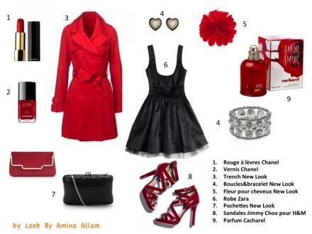 Rouge et noir – j'adore