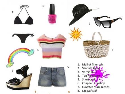 Une tenue de plage