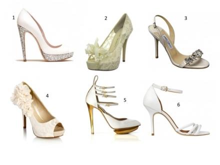 Des chaussures de mariée