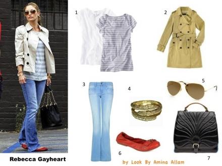 Le style de Rebecca Gayheart