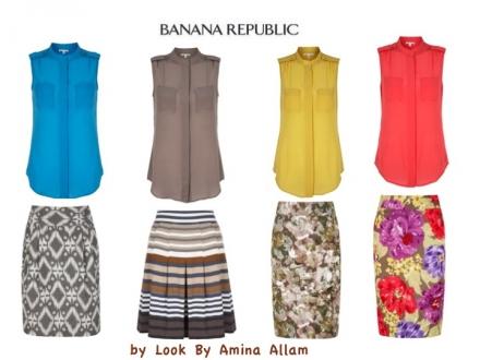 Banana Republic pour l'été 2012