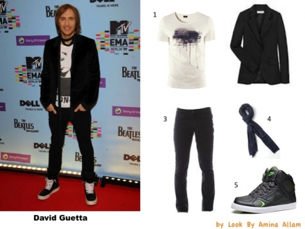 Adoptez le look de David Guetta