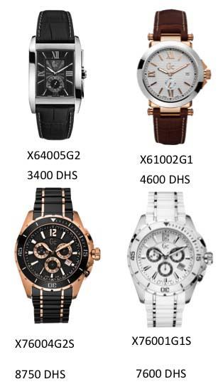 Encore des montres Guess pour lui