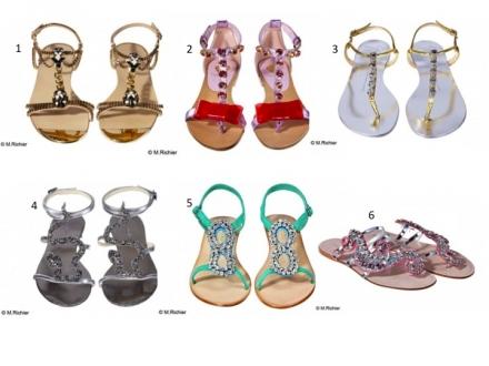 Des sandales comme des bijoux