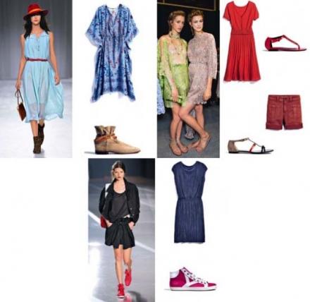 Quelles chaussures pour l'été 2012?