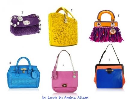 La couleur est dans le sac