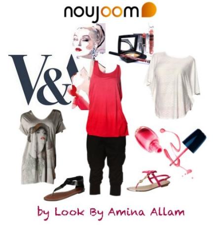 Le look Noujoom.ma de la semaine