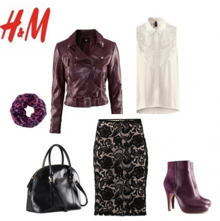 La jupe en dentelle d'H&M