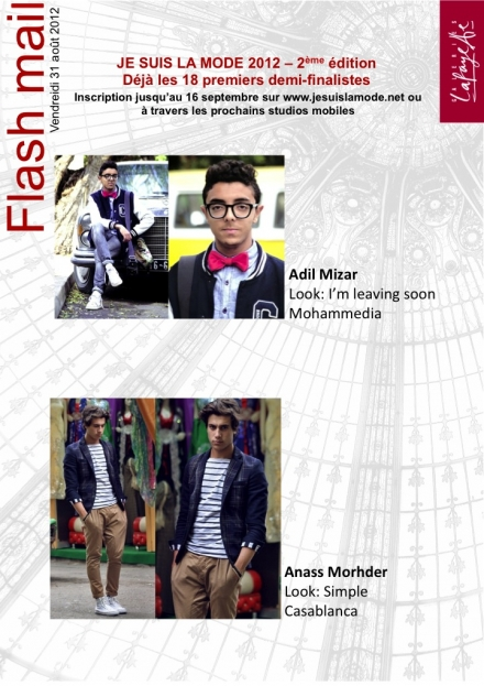 Je suis la mode 2012 : les 18 premiers demi-finalistes