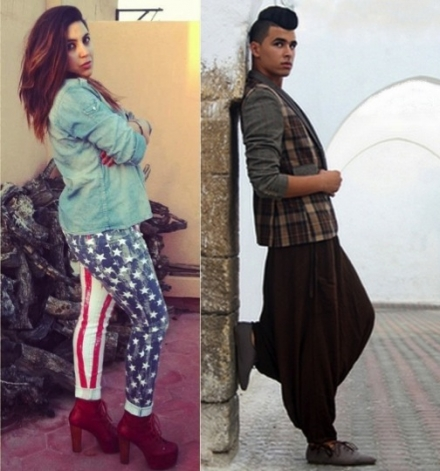 Yasmine et Samir – les gagnants de Je suis la mode 2012