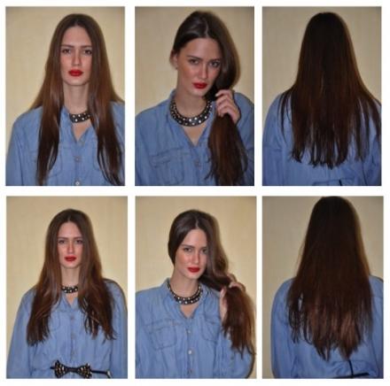 Zayna Extensions – avant & après