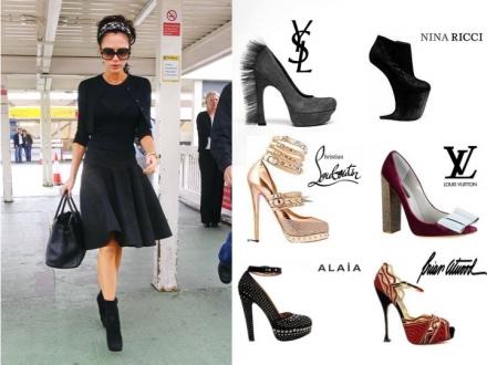Les chaussures de Victoria Beckham