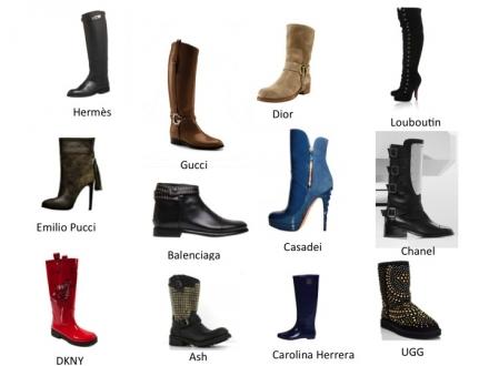 Ma sélection de bottes et de bottines