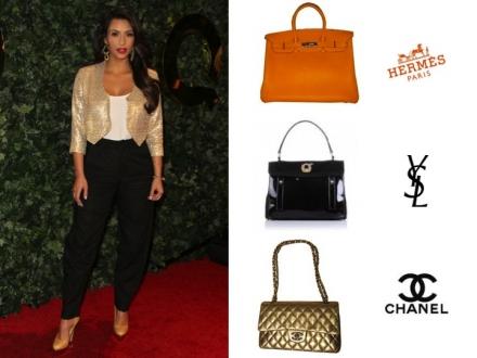 Les sacs de Kim Kardashian