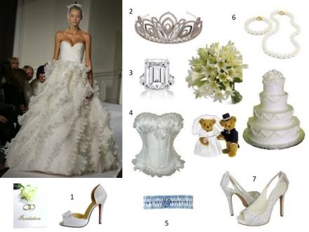 Les secrets de la belle mariée