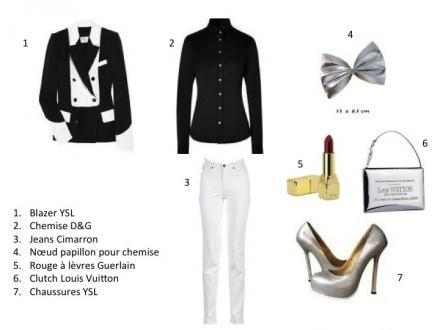 Glamour en noir et en blanc