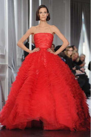 Défilé haute couture Dior printemps-été 2012