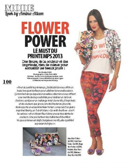 Plurielle avril 2013 – Flower Power