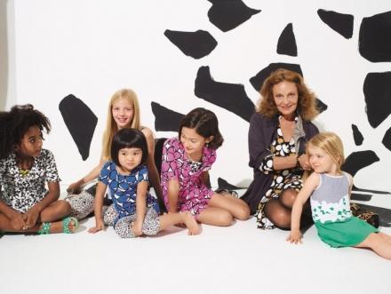 Diane Von Furstenberg pour GapKids et BabyGap