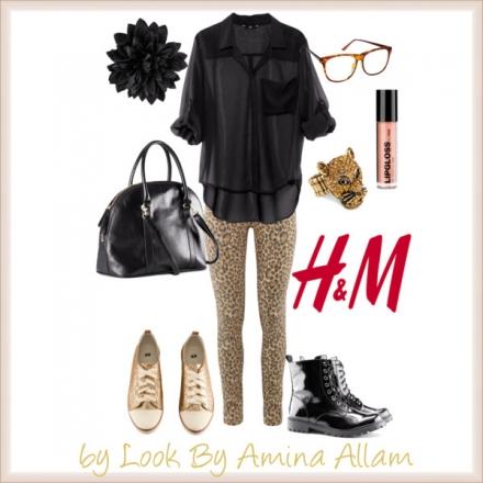 Le jeans imprimé animal de H&M