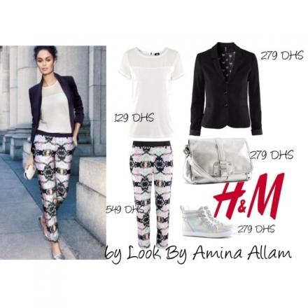 Le pantalon imprimé de H&M